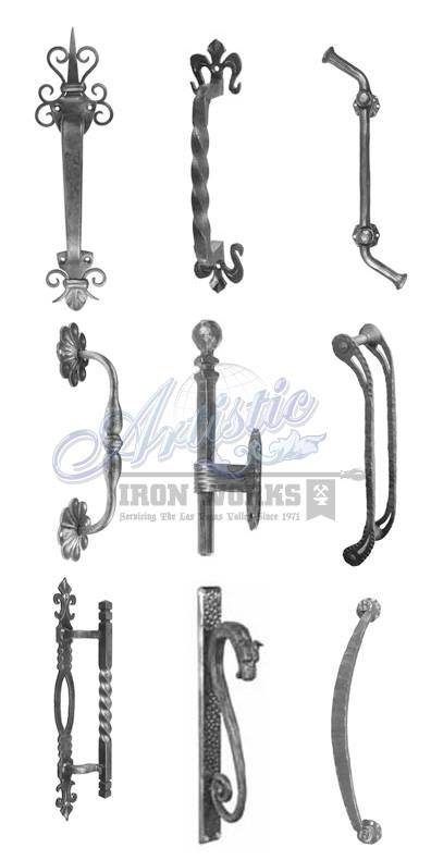 Wrought Iron Door Pulls