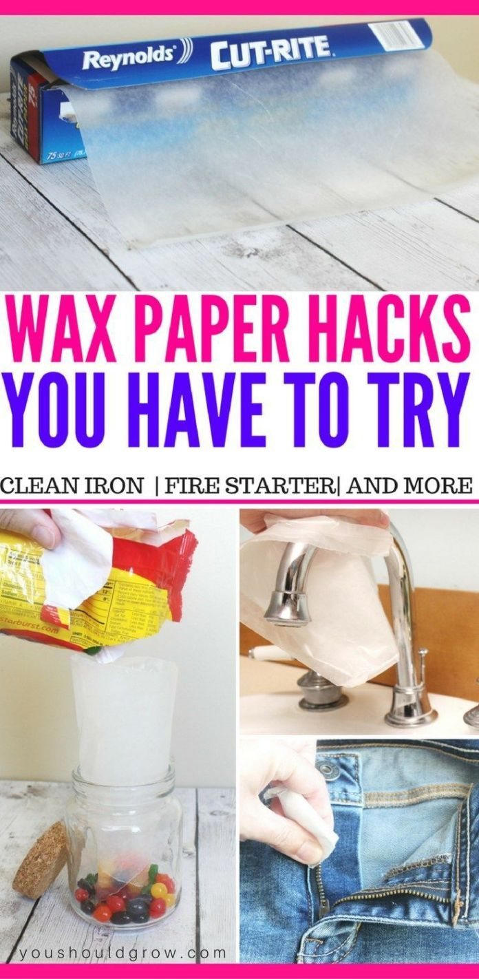 diy life hacks crafts looking for more ways to use wax paper in