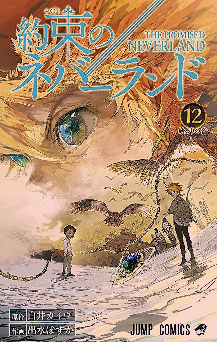 The Promised Neverland Tome 1 : promised, neverland, Conrad, Jenkins, Couverture, Neverland, Neverland,, Manga, Covers