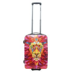 Kleines #Handgepäck Saxoline Jungle Lion bei Koffermarkt: ✓Motiv mit Löwen ✓2 Rollen ✓ABS-Polycarbonat-Hartschale ✓IATA-konform