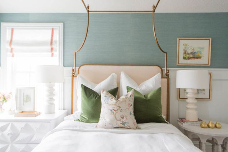 7 Steps to Decorating Your Bedroom- Great advice on creating the perfect space for you from start to finish.