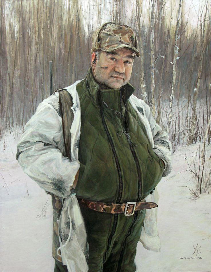 Hunter. Portrait.