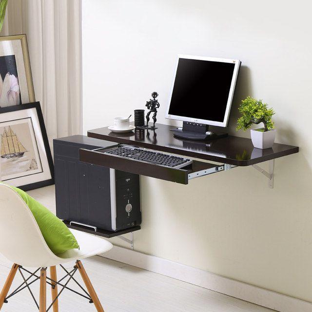Diy Computer Desk In 2020 Computer Table Design Small Computer Desk Desks For Small Spaces