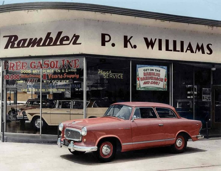 PK Williams Rambler Cars Dealer, Austin, Texas, 1959