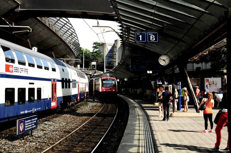 essay on train station