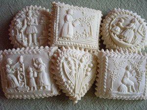 Springerle House Cookies: Cookies Springerl, Cookies Crumb, Cookies Mi Dads, Dads Favorite, Cookies Corner, House Cookies Mi, Cookies Cookies, Cookies Galor, Cookies Moldings