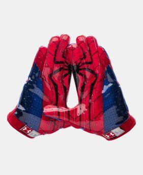 Men's Under Armour® Alter Ego Spider-Man F4 Football Gloves