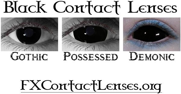 Black contacts ... Want so bad