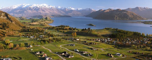 Looking over Far Horizon Park, developed by Infinity Investment Group, in Wanaka