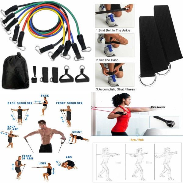 Resistance Bands Set Workout Exercise Heavy Fitness Yoga Pilates Training Gym #abstorm #abs #sixpack #muscles #workout #workoutmotivation #fitness #FitnessMotivation #FitnessModel #FitnessGoals #CrossFit #yoga #yogalife #pilates #workouts #gym #gymlife #fatburning #homegym #STAMINA #flexibility #resistancebands #PhysicalTherapy #sports #MuscleMan #Sporting #eBay #OnlineShopping #OnlineSales #Discounts #Greatproducts #bestproduct #shopping #Discountsales #gifts #reseller #resale #workfromhome