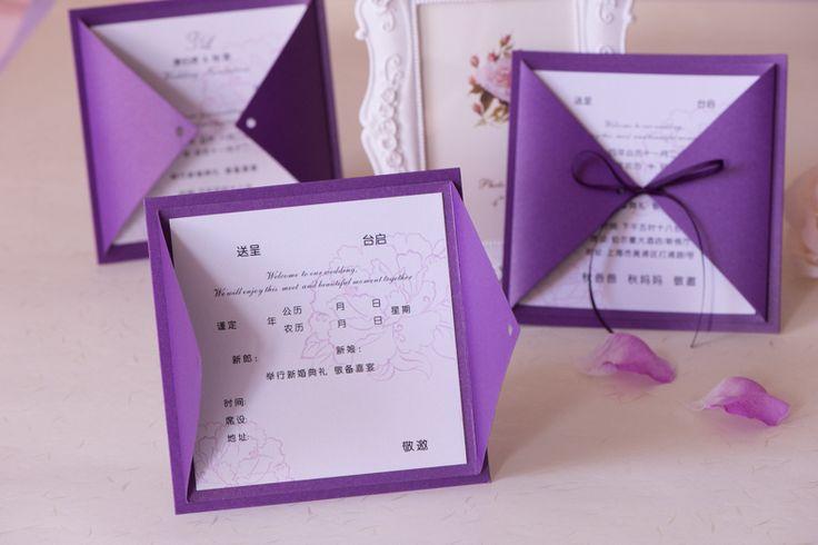 Bling-p-rpura-oscuro-tarjeta-de-invitaci-n-de-boda-con-la-cinta-cumplea-os-invitaciones.jpg (790×527)