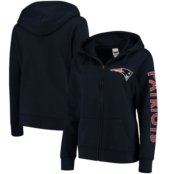new styles c1b4d 23027 New England Patriots Women's Extra Point Two-Hit Full-Zip ...