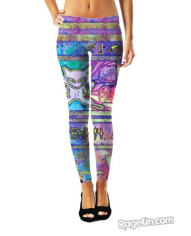 Ancient Mew Leggings