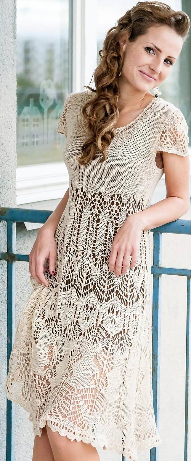 knit dress by Ligvita on Ravelry