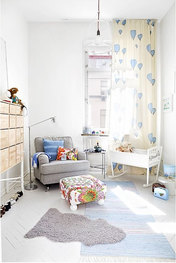 cute curtains #kidsroom #childrensroom