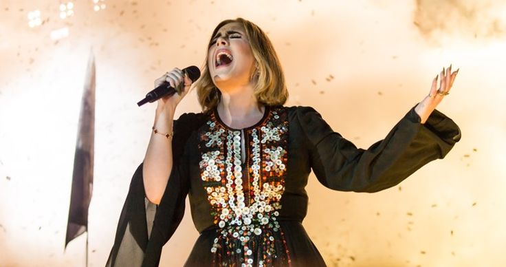 Adele says Hello to Number 1 again after headlining Glastonbury