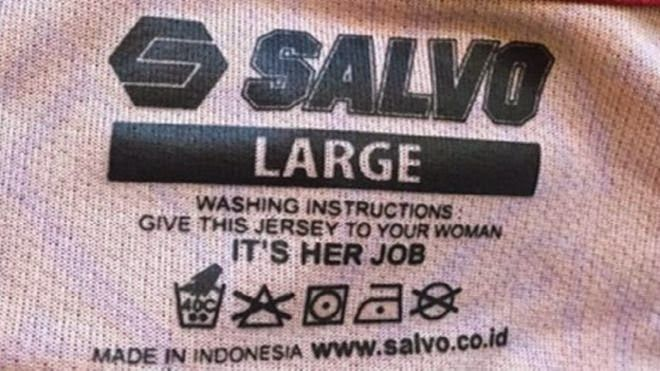 World News in Bahasa: Because the washing label, brand Indonesia critici...