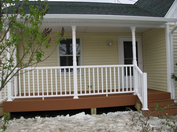 Exterior Extraordinary Small Front Porch Decoration Using ...