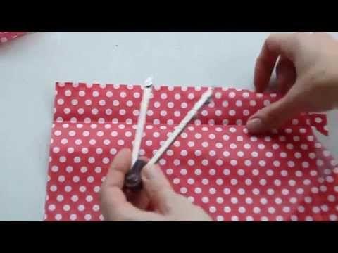 Como hacer Volantes – Patrón y trucos – parte 1 – Cursos y Patrones de Costura