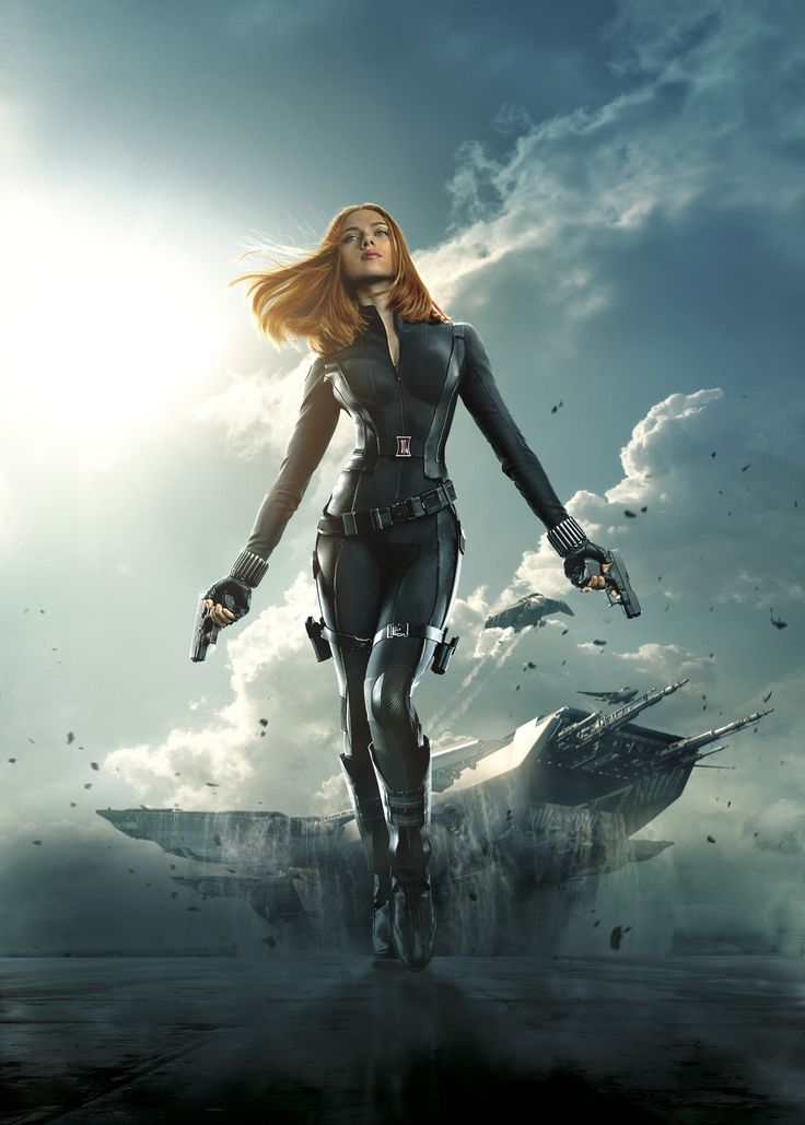Captain America 2 BLACK WIDOW PHOTOS | Captain-America-The-Winter-Soldier-BlackWidow posterart