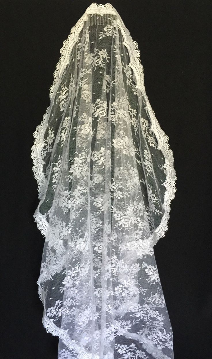 A personal favorite from my Etsy shop https://www.etsy.com/listing/488690852/first-communion-veil