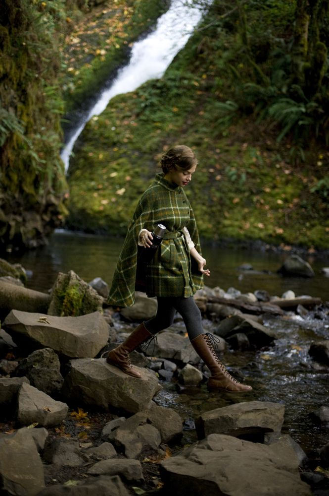 .: Forests, Capes Coats, Clothing, Green, Outfit, Kinfolk Magazines, Tartan, Woods, Boots