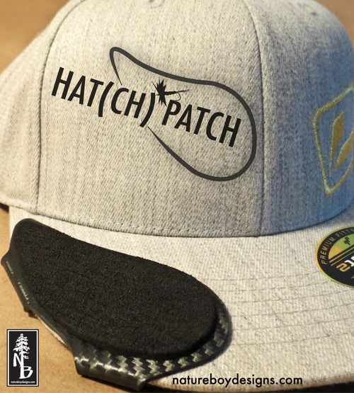 Hat(ch) patch from Nature Boy Designs
