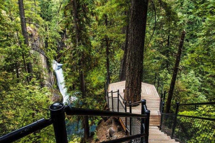 Toketee Falls, near Glide-Roseburg, Southern Oregon