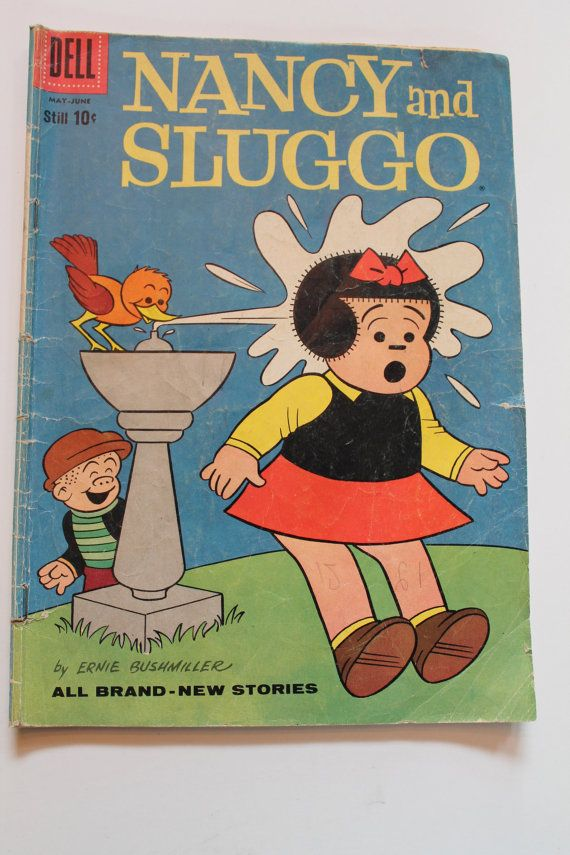 4 Vintage Nancy Sluggo Dennis the Menace comic book by WunderFun, $10.00