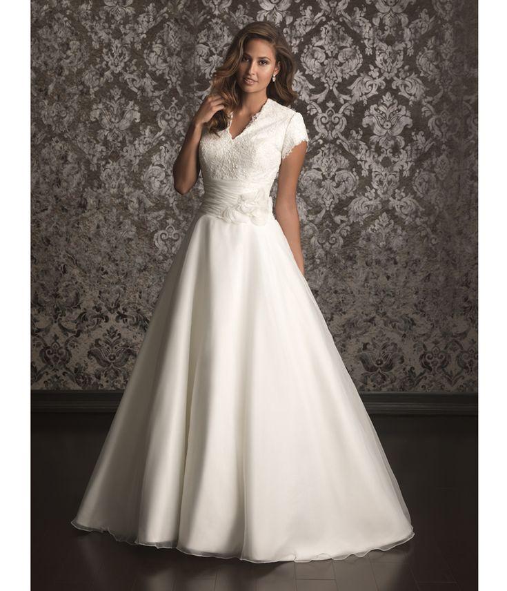 Allure Modest Wedding Gowns: 223 Best Wedding Dress For The Sentimental Bride Images On