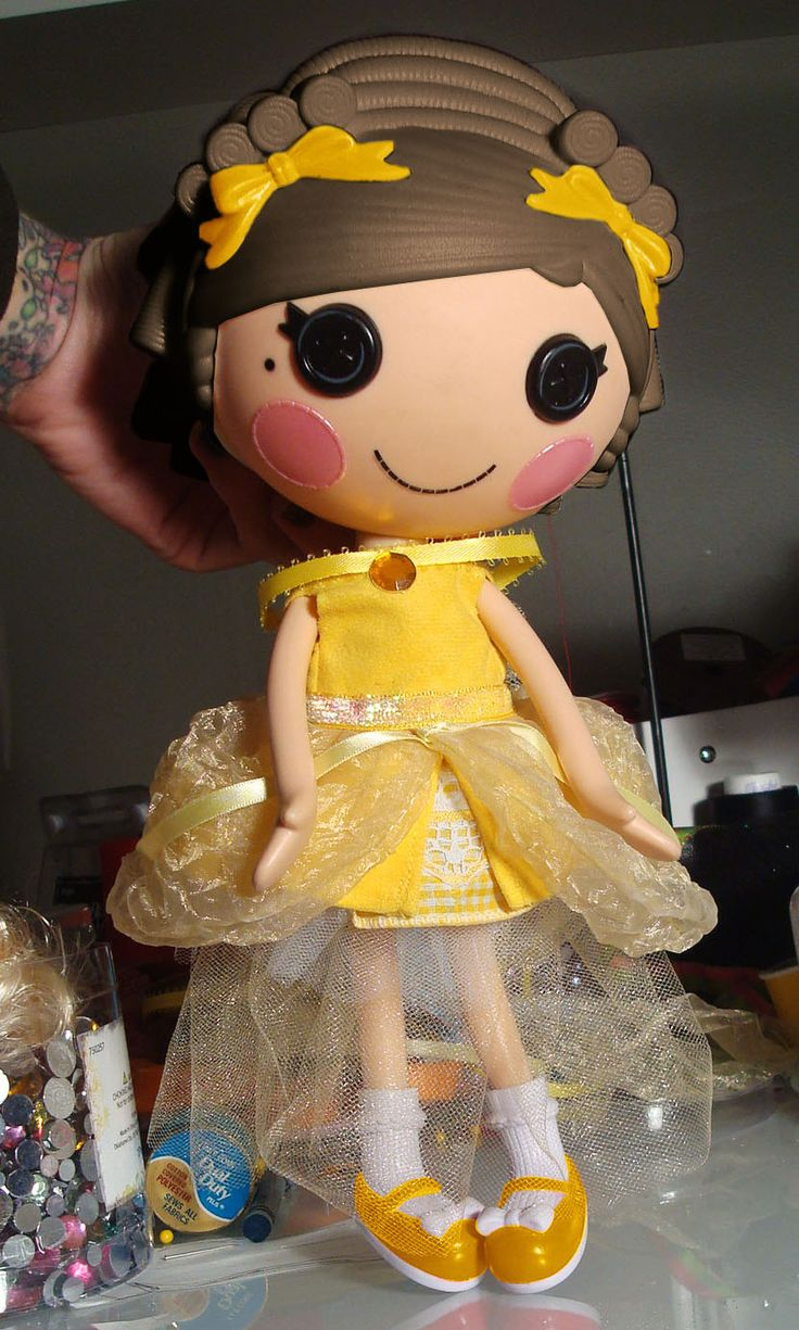 """Lalaloopsy Dress, Lalaloopsy clothing by Peppermint Piglet on Etsy. Disney inspired Beauty and the Beast """"Belle"""" dress!"""