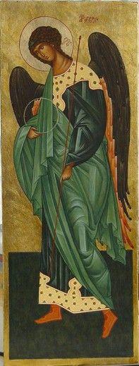Archangel Gabriel - Artist Malvina Wojcik. / Archanioł Gabriel - from http://www.touchofart.eu/Malwina-Wojcik/mw5-Archaniol-Gabriel/