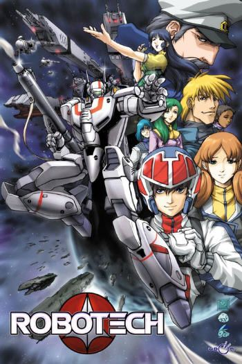 Robotech. Rick Hunter *sigh*. Also loved Lancer in the new generation.