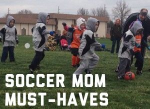 This is a great list for moms whose kids play any outdoor (and, with a couple of modifications, indoor) sport.