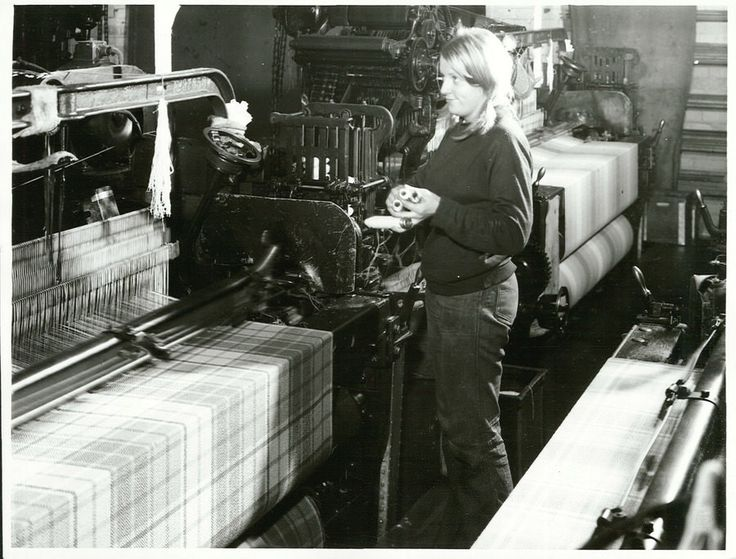 Blanket weaving at the Mosgiel Woollen Mill | by Archives New Zealand