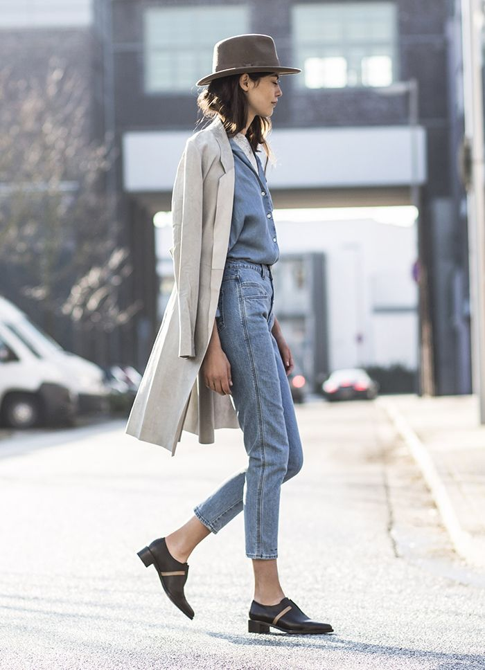 5 street style images that will change your mind about mom jeans | Say Yes | Bloglovin'