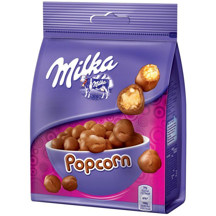 Milka Snax - Popcorn #chocolate #milka #snack #popcorn