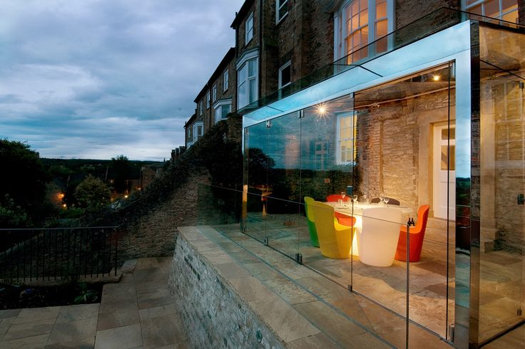 Extending A Listed Building: The Glass Extension | Cherie Lee Interiors
