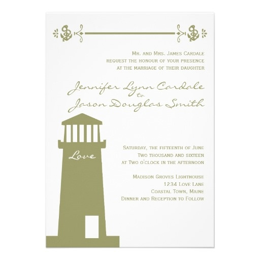 Anchor Wedding Invitations 001 - Anchor Wedding Invitations