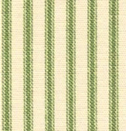 French Country Le Green Ticking Stripe Curtain Fabric Gracefully Pinterest And