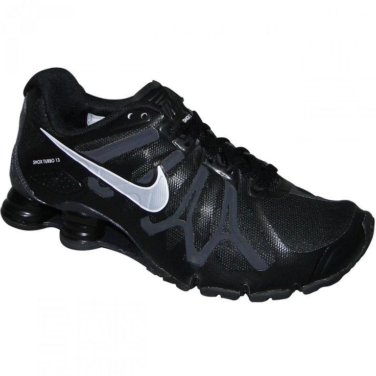 NIKE SHOX   Tenis Nike Shox Turbo + 13 525155001 - Preto/Prata - Chuteira