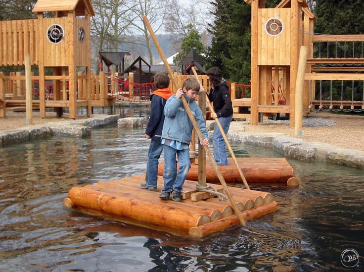 Architectural Playground Equipment: Image examples water-play Oh Boy!  Might have to save this for home but it looks like a ton of fun learning adventures.