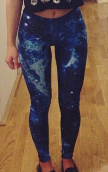 Mystical Blue leggings