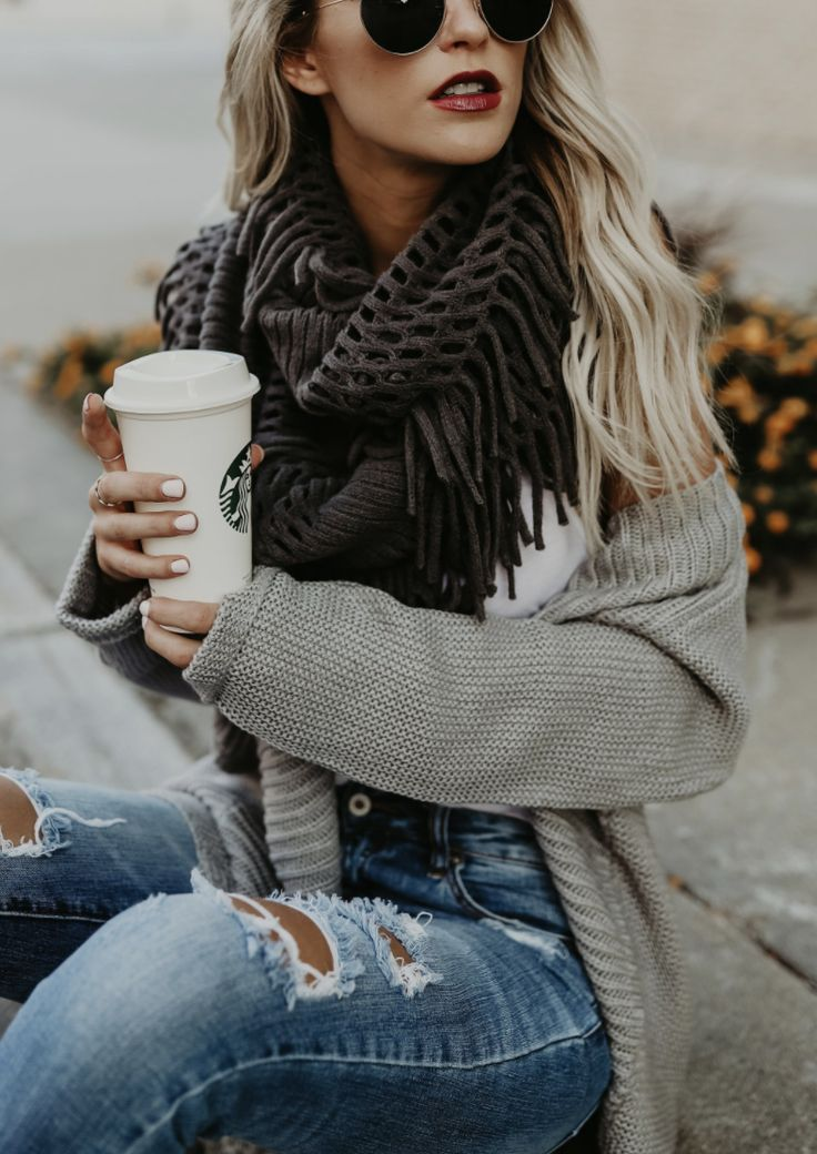 $18.99! Chicnico Fringe Infinity Scarf. Get ready for Fall fashion! Find fashionable outfits for the new season.