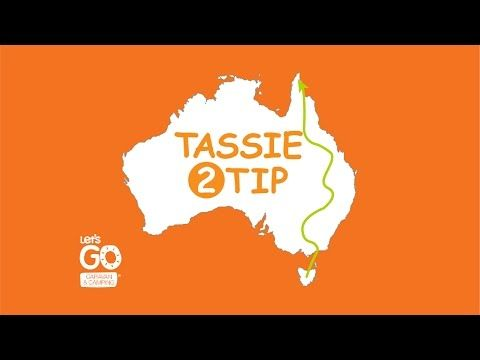#Tassie2Tip Cliff Bombs and Second River Crossing - Let's Go Caravanning and Camping Australia