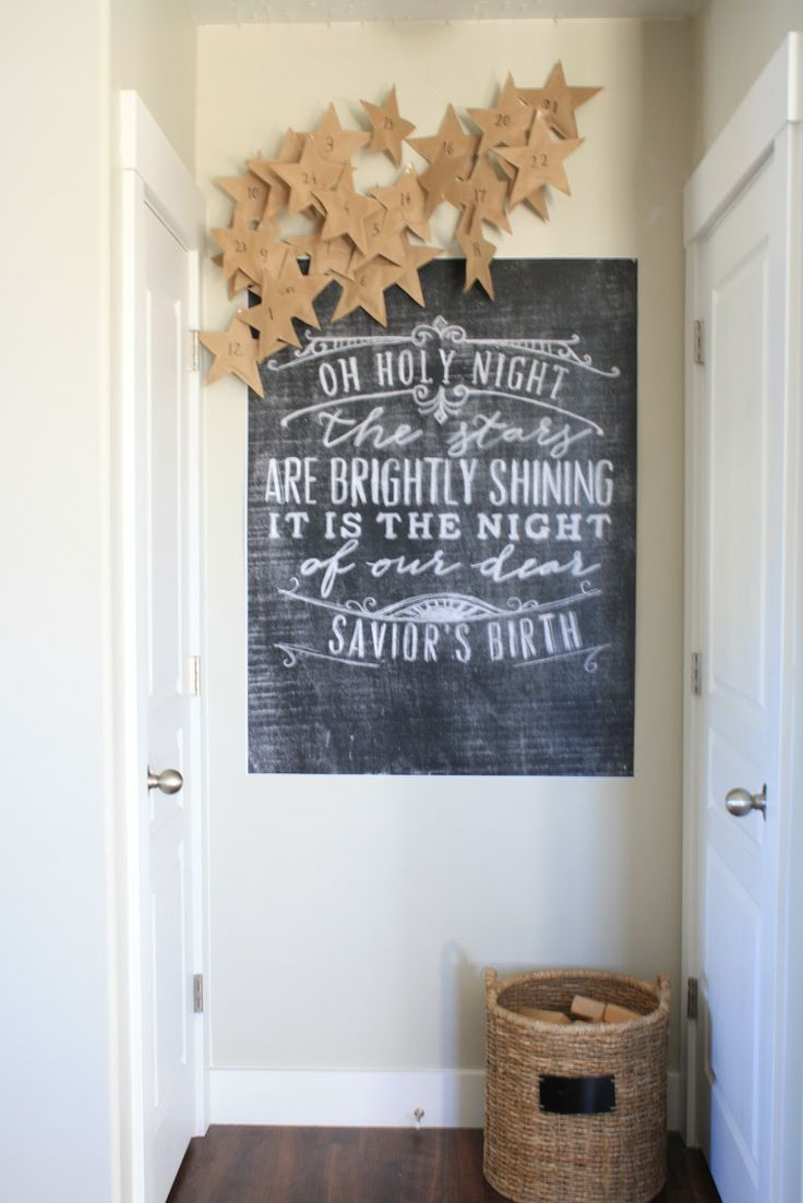 cute advent and awesome printable poster by Caravan