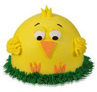 Spring Chick Cake