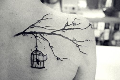 I would probably go without the  birdcage, but there's a beauty and youth to this that I love.