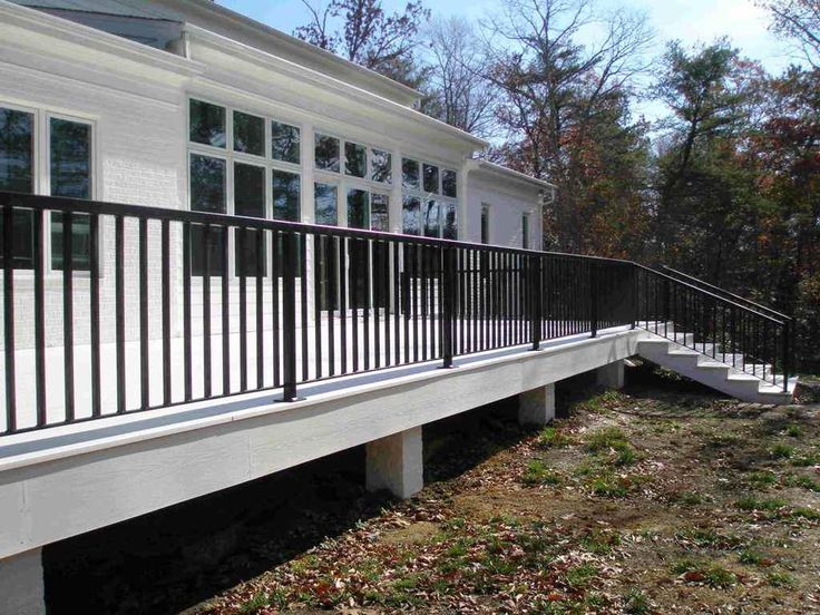 Best 25+ Porch railings ideas on Pinterest | Front porch ...