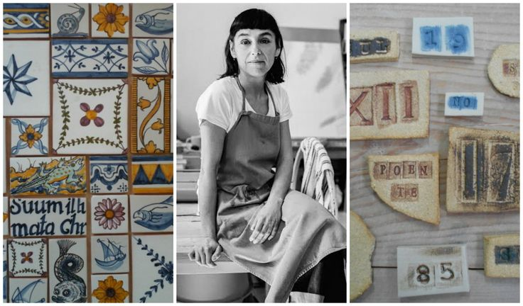 The one decorative element which characterizes the Portuguese best, is without a doubt the azulejos. Isabel Colher is bringing them into the 21st century.